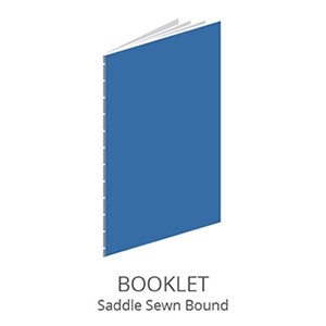 Specifications of Saddle Sewn Bind Booklet