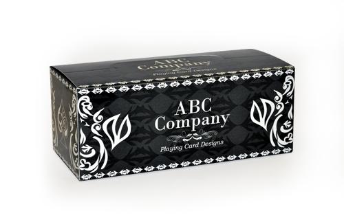 custom full brick box playing cards